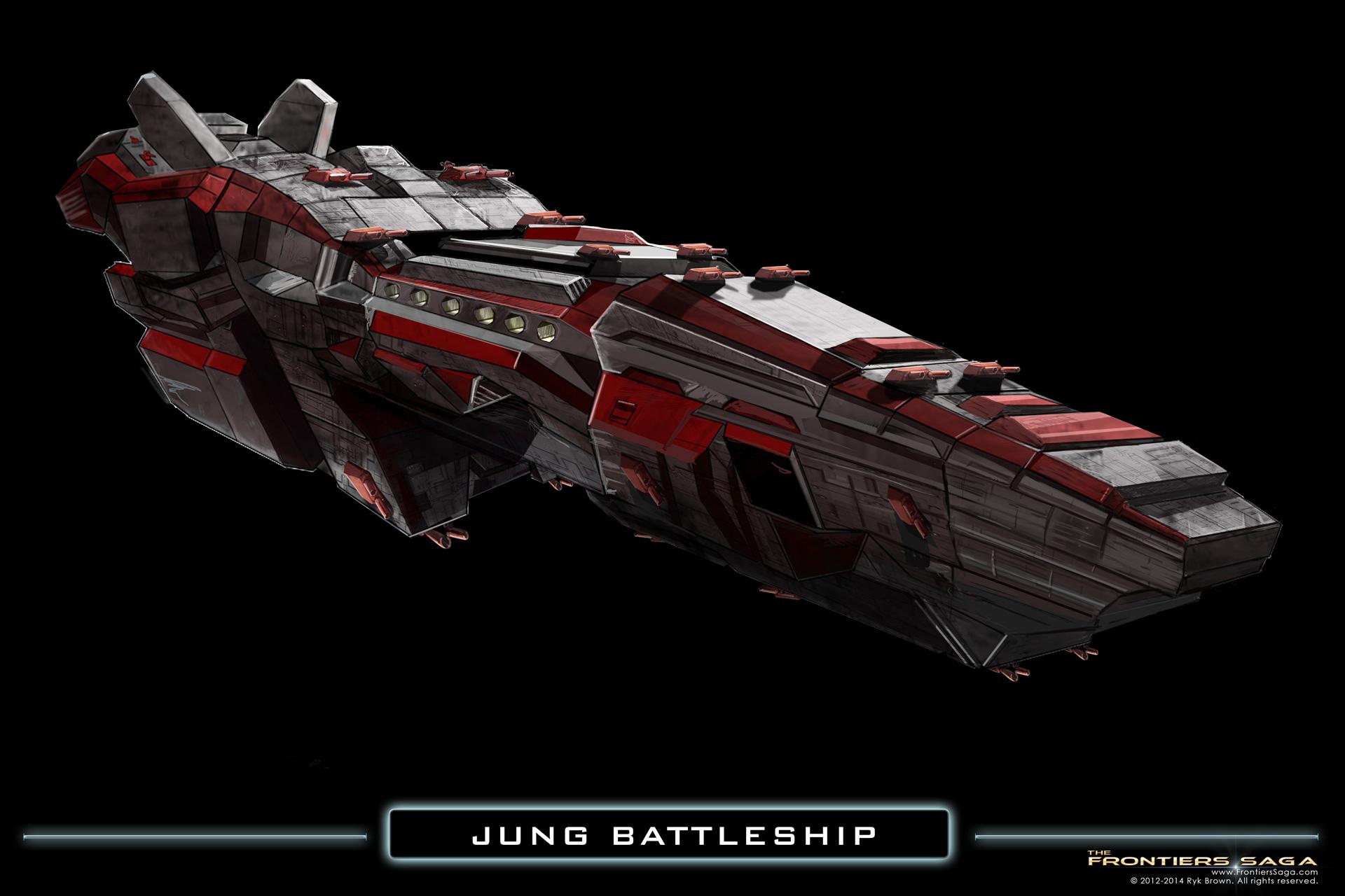 Battleship Concept Art